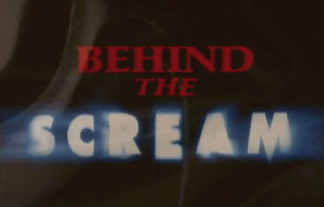Documentary - Behind The SCREAM