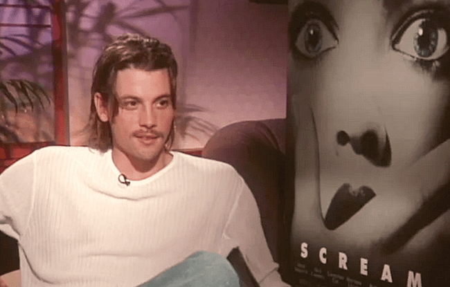 Scream - Skeet Ulrich Scream exclusive interview - France