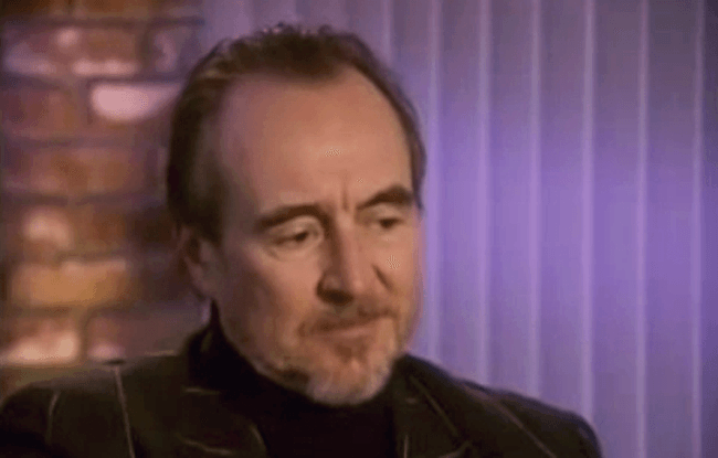(scream) video interview wes craven #1