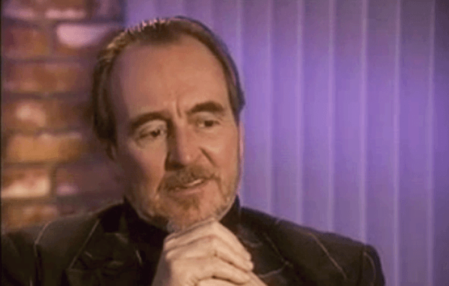 (scream) video interview wes craven #2
