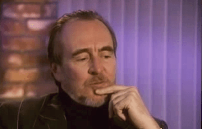(scream) video interview wes craven #5
