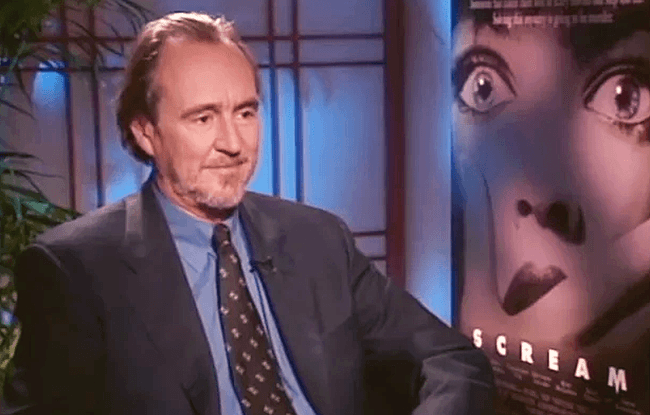 Scream - Wes Craven Scream exclusive interview - France