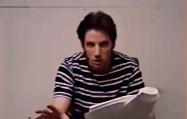 (scream) video screen test jamie kennedy