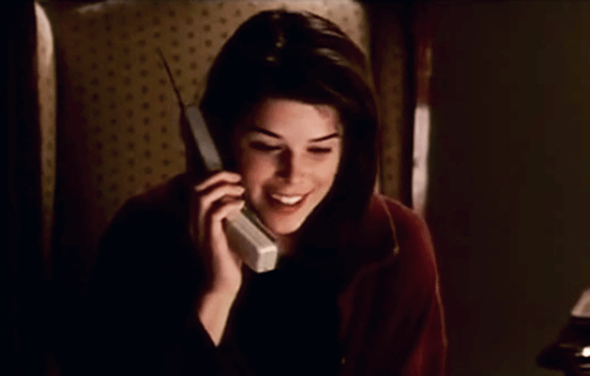 (scream) video screen test neve campbell