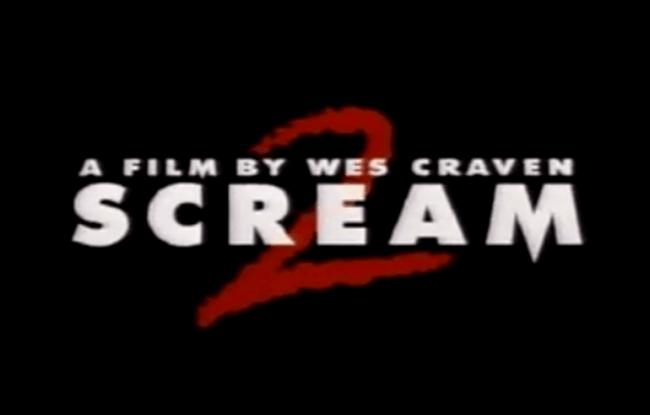 Scream 2 - Teaser Trailer & TV Spots