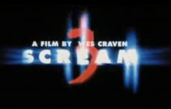 Scream 3 - TV Spots