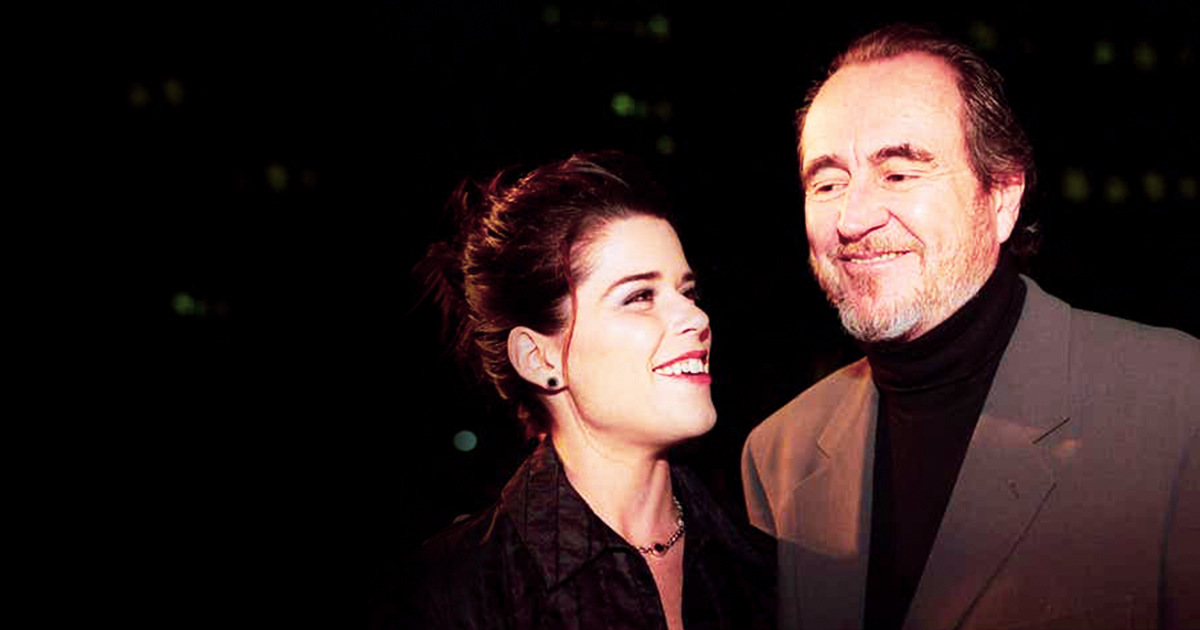 Scream 3: Premiere - Neve Campbell & Wes Craven